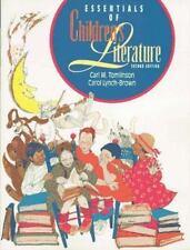 ESSENTIALS OF CHILDREN'S LITERATURE 2nd Edition Carl Tomlinson Textbook BOOK