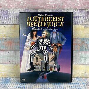 Lottergeist Beetlejuice DVD Michael Keaton 1998 SNAPPERCASE Erstauflage TOP !!