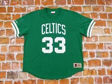 Neuf Boston Celtics Larry Bird 33 NBA Maillot Chemise USA Basketball XXL Neuf