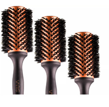 Varis Creative Energy Boar Brush fueled by Hydroionic Crystals -Choose your Size
