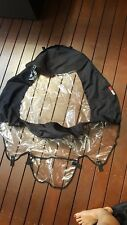 PHIL & TEDS ACCESSORIES SPORT PRAM- RAIN WIND COVER, UV SUN COVER EXCELLENT COND