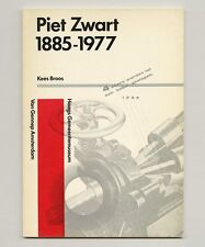 1973 Kees Broos PIET ZWART 1885 -1977 Dutch GRAPHIC DESIGN Typography exhibition