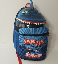 Shark Attack Backpack Blue by Raskullz Adjustable Straps big sale 993ee  b2b54  Take a closer look. Beatrix NY Big Kid ... 72e1b1b290