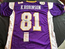 Koren Robinson Minnesota Vikings Signed Custom Jersey JSA WPP