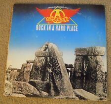 AEROSMITH ~ROCK IN A HARD PLACE ~ORIG ISSUE LP/INSERT/1982 ~VG+/VG+~ALICE COOPER