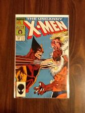 UNCANNY X-MEN #222 VF/NM ( Wolverine vs Sabretooth).