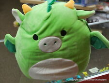 """Dexter The Green Dragon 12"""" 12 Inch Squishmallow New With Tags! CUTE"""