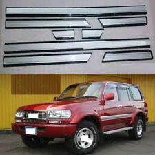8x Car Door Anti-collision Strips For Toyota Land Cruiser LC80 4500 FZJ80 91-97