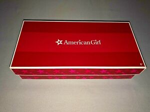 AMERICAN GIRL EMILY Molly's Friend WOODEN SNOW SLED New in Box Retired