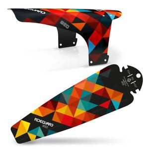 MTB Mudguard Set Mountain Bike Bicycle Fender Front & Rear RideGuard UK Made
