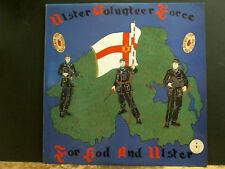 ULSTER VOLUNTEER FORCE   Unoted We Stand   LP   Loyalist Records  RARE   EX !!