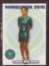 2015 VENUS WILLIAMS Wimbledon card 1/100 Tennis