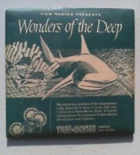 Wonders of the Deep   View Master  S1  Packet  1954