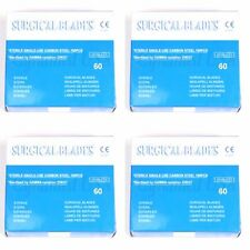 100 Scalpel Blades #60 Surgical Dental ENT Instruments