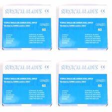 100 Scalpel Blades #60 Surgical Dental ENT Instruments