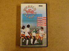 VHS VIDEO CASSETTE VOETBAL / WERELDSTERREN UIT DE NEDERLANDSE COMPETITIE