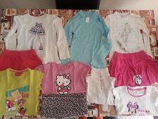 lotto 432 stock 10 pezzi abbigliamento bimba bambina 4-5 Anni