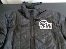 G STAR RAW Men's COPER Quilted Overshirt Size XXL Jacket Black FREE SHIPPING