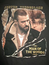 """2018-19 Justin Timberlake """"The Man of the Woods"""" Concert Tour (Med) T-Shirt"""