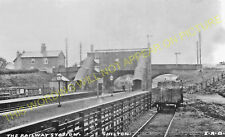 Shilton Railway Station Photo. Bulkington - Brinklow. Nuneaton to Rugby. (3)