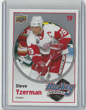 2010-11 STEVE YZERMAN UPPER DECK HOCKEY HEROES #HH-6