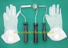 Fiberglass Bubble roller + Gloves + Valve Masks Kit For FRP mould RESIN GRP