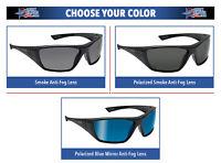 Bolle Hustler Safety Glasses Sunglasses ANSI Z87+ Work Eyewear Choose Color