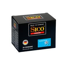 Frei Haus: 50 SICO Marathon Kondome - aktverlängernde Kondome
