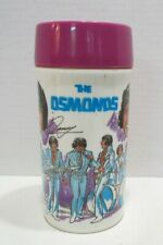 THE OSMONDS 1973 PLASTIC THERMOS BOTTLE for ALADDIN METAL LUNCHBOX DONNY OSMOND