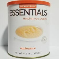 Emergency Essentials Freeze Dried Food Applesauce #10 Can