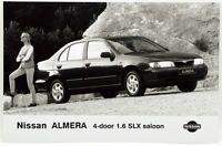 Fotografia Originale - Nissan Almera 4-Door 1,6 SLX Saloon cm 11,5 x 17,5