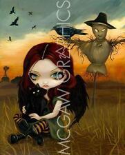FANTASY ART PRINT The Scarecrow Jasmine Becket-Griffith