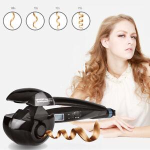 Boucleur Cheveux Automatique Curl Céramique fer à friser écran LCD Hair Curler