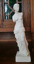"""1970s 11.25"""" Nude Venus de Milo Aphrodite Goddess Statue Sculpture - A. Santini"""