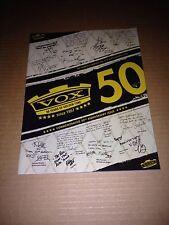 Vox 50th Anniversary Catalog