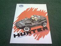 1988 IAD HUNTER CONCEPT CAR - UK COLOUR BROCHURE