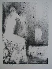 Giuseppe AJMONE (Carpignano Romagnano Sesia) Litografia cm 50x70 es. 93/100 1970