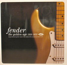FENDER 'The Golden Age 1950-1970' - 28 Tracks on ACE