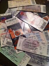 Lot Of 10 Random Ticket Stubs sports concerts theater mlb nba mls broadway nhl