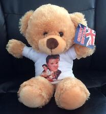 ELVIS PRESLEY 8 inch VERY CUDDLY TEDDY BEAR col