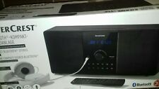 Stereoanlage SILVERCREST(R)CD/ RMS/USB/FM-Radio/Bluetooth Musik Streaming Neu
