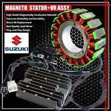 02-12 VSTROM 1000 MAGNETO COIL STATOR+VR VOLTAGE REGULATOR RECTIFIER+GASKET ASSY