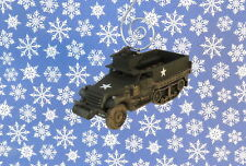 Custom Christmas Ornament Corgi Vietnam M3 Half Track Carrier US Army Truck
