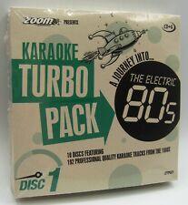 Zoom Karaoke 80s Turbo Pack - Volume 1 to 10 - 192 karaoke tracks on CD+G