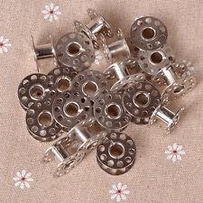 20pcs Sewing Machine Bobbins Stainless Metal For Kenmore Viking Singer Practical