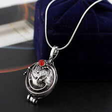 Vampire Diaries Elena Vervain Pendant Antique Silver Locket Necklace Jewelry US
