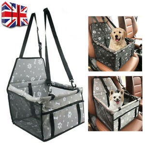 Dog Car Seat Booster / Pet Car Booster Seat  Foldable - Seat Belt - Pet Carrier