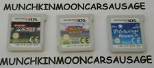 3 Kids Games for PAL Nintendo 3DS 2DS & XL Carts ONLY FREE UK P&P Mario Sonic