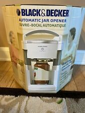 NIB Black & Decker JW200 Lids Off Automatic Jar Opener Never Used!