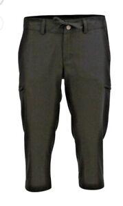 Magellan Fish Gear CAPRI Pants UPF 20 Black wicking pockets Women's M (8-10)